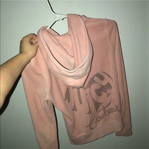 Juicy Couture Velour Zip-Up